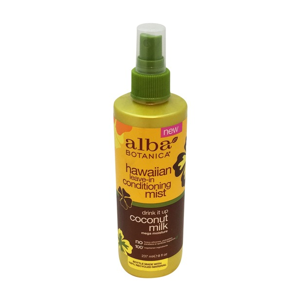 Alba Botanica Coconut Milk Leave In Conditioner Mist