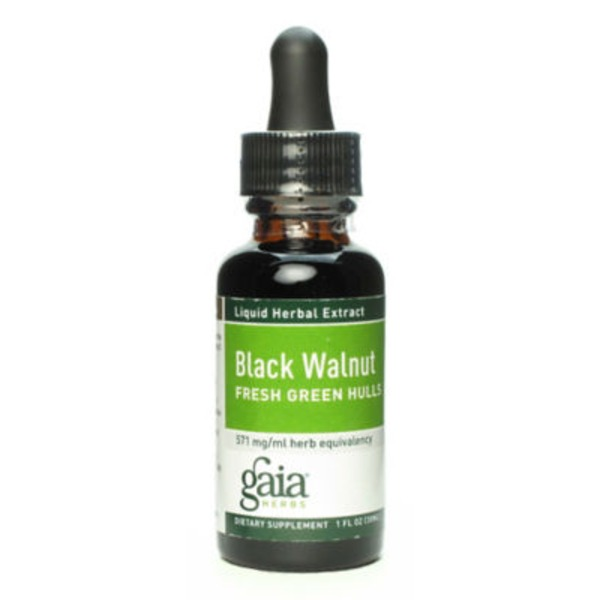 Gaia Herbs Black Walnut Fresh Green Hulls Extract