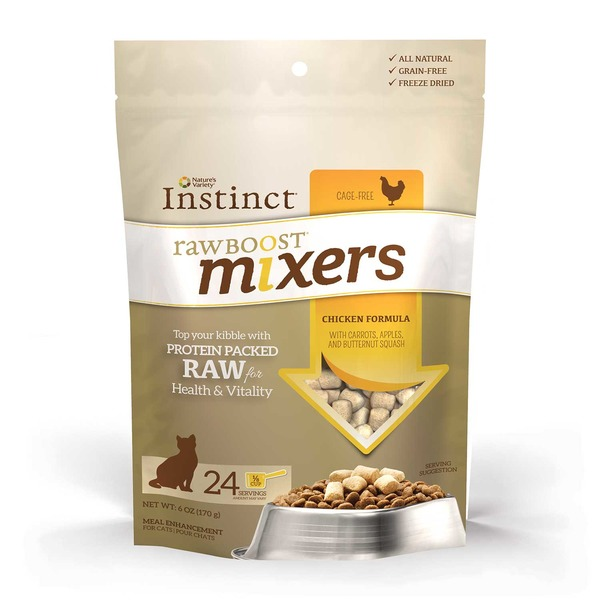 Nature's Variety Instinct Raw Boost Cat Food Chicken Mixer