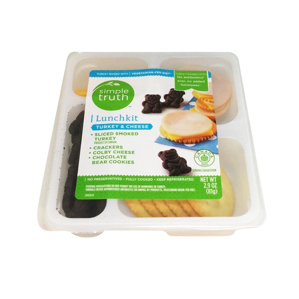 Simple Truth Turkey & Cheese Lunch Kit