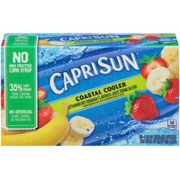 Caprisun Mountain Cooler Juice Drink