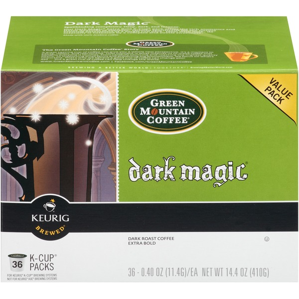 Green Mountain Coffee Dark Magic K-Cup Packs Coffee