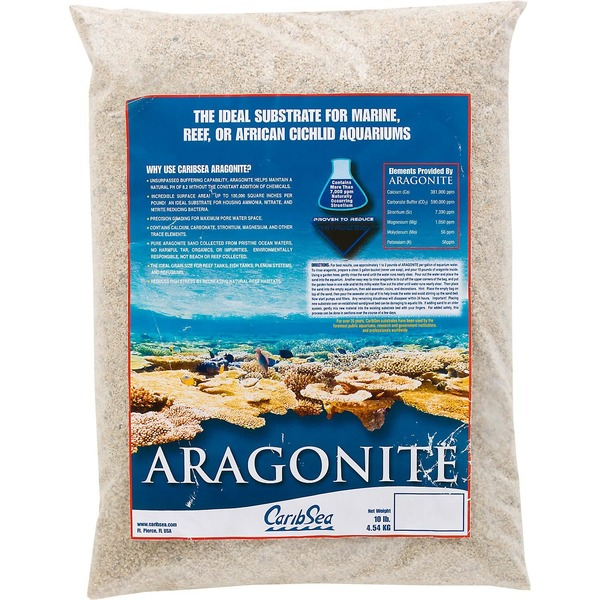 Carib Sea Aragonite Aquarium Sand 10 Lbs.