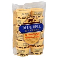 Blue Bell Homemade Vanilla Ice Cream Cups