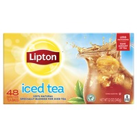 Lipton Unsweetened Special Blend for Iced Tea, Famliy Size Tea Bags
