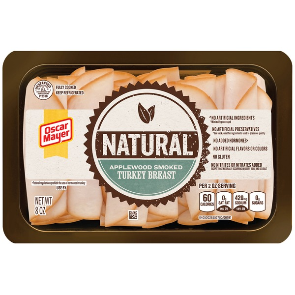 Oscar Mayer Cold Cuts Natural Applewood Smoked Turkey Breast