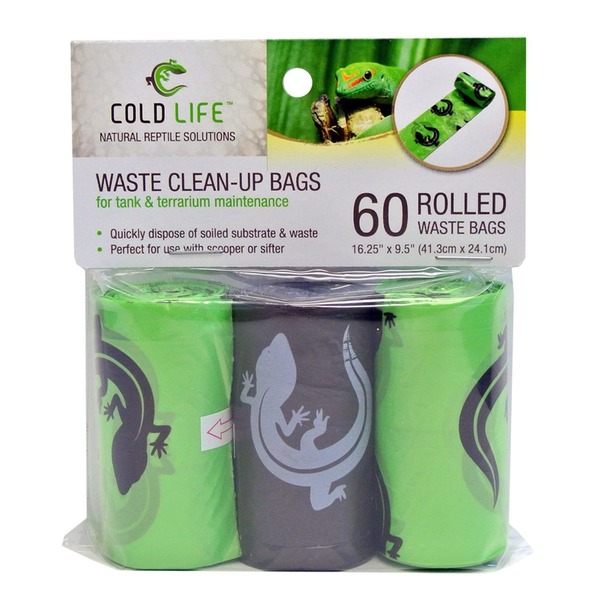 Cold Life Reptile Waste Clean Up Bags