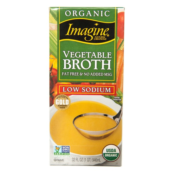 Imagine Foods Vegetable Broth Low Sodium