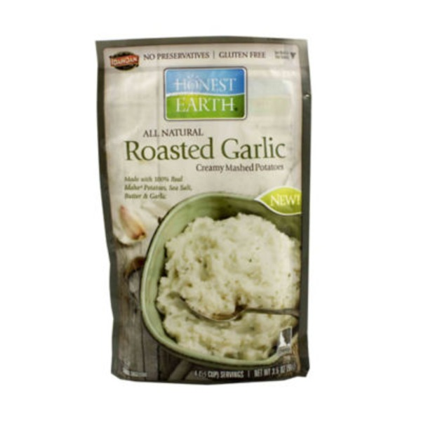 Honest Earth All Natural Creamy Roasted Garlic Mashed Potatoes