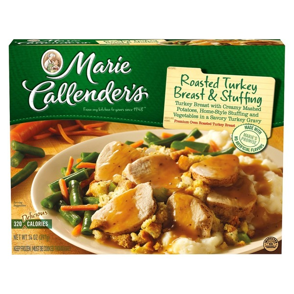 Marie Callender's & Stuffing Turkey Breast