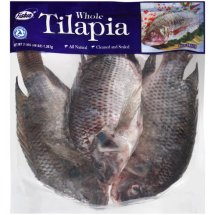 Frozen Whole Tilapia, 3 lbs.