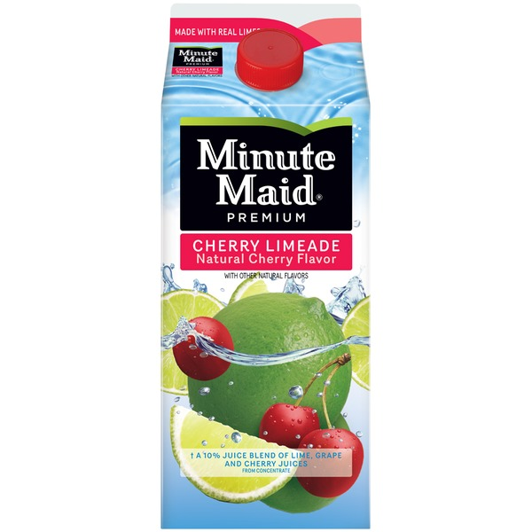 Minute Maid Cherry Limeade Flavored Fruit Drink