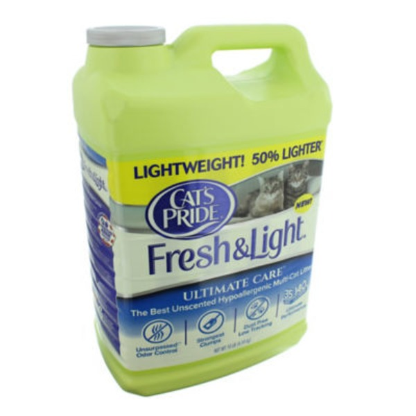 Cat's Pride Fresh & Light Ultimate Care Unscented Multi-Cat Hypoallergenic Cat Litter