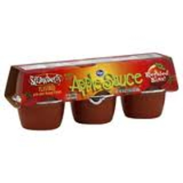 Kroger Apple Sauce Strawberry