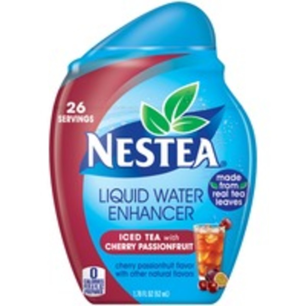 Nestea Iced Tea with Cherry Passionfruit Liquid Water Enhancer