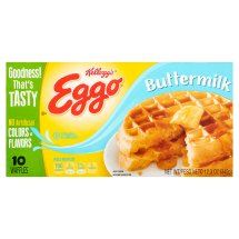 Kellogg's Eggo Buttermilk Waffles, 10 count, 12.3 oz