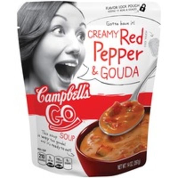 Campbell's Go Soup Creamy Red Pepper & Gouda Soup