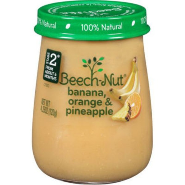 Beech-Nut Naturals Bananas, Orange & Pineapple Stage 2