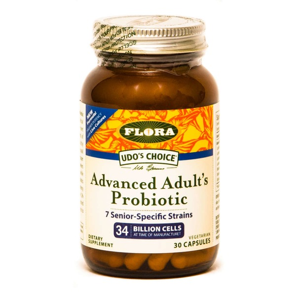 Flora Advanced Adult's Probiotic Vegetarian Capsules