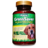 NaturVet Grass Saver Natural Food Supplement Chewable Tablets
