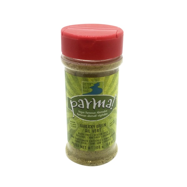 Eat In The Raw, Inc Parma! Vegan Parmesan (Garlicky Green)