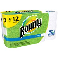 Bounty Basic Select A Size Paper Towels Giant Rolls