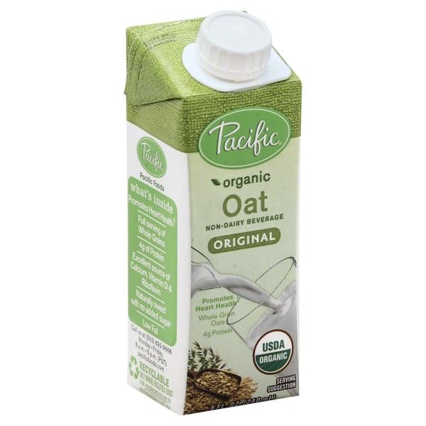 Pacific Beverage, Oat, Original, Organic, Brick
