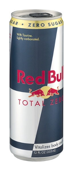 Red bull total zero 12oz