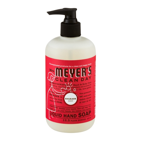 Mrs. Meyer's Clean Day Liquid Hand Soap Rhubarb Scent