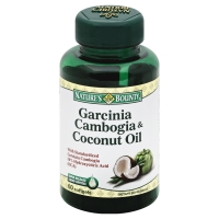 Natures Bounty Garcinia Cambogia Coconut Oil 2000mg Softgels