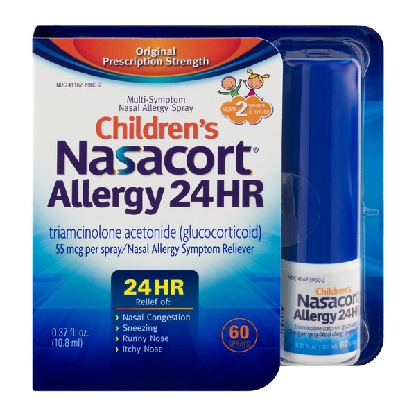 Nasacort Children's Nasacort Allergy 24 HR