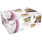 Purina Fancy Feast Grilled Chicken Feast in Gravy Collection Cat Food 12-3 oz. Cans