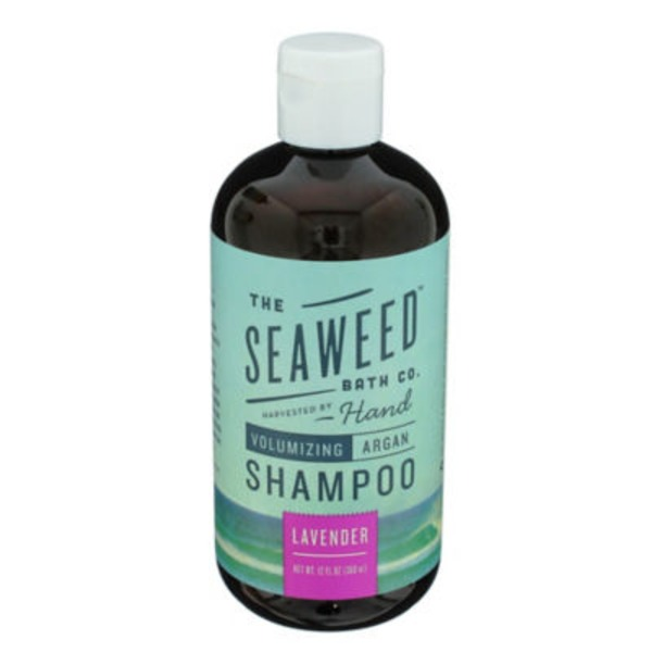 The Seaweed Bath Co. Volumizing Argan  Lavender Scent Shampoo