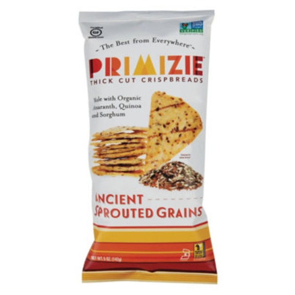 Primizie Thick Cut Crispbreads Ancient Sprouted Grains