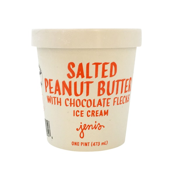 Jenis Salted Peanut Butter With Chocolate Flecks Ice Cream