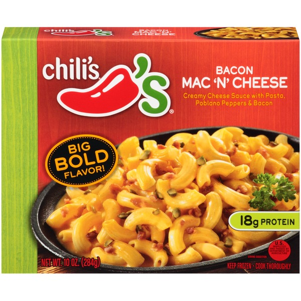 Chili's Bacon Mac 'N' Cheese Frozen Dinner