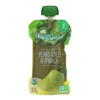 Happy Baby/Family Pears, Kale & Spinach Organic Baby Food