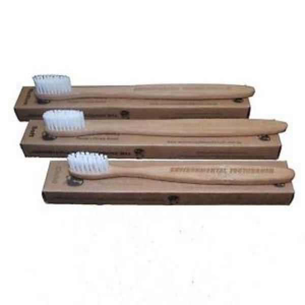 Senzacare Bamboo Soft Adult Toothbrush