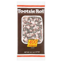 Tootsie Roll Midgees Candy, 400 count, 43.1 oz