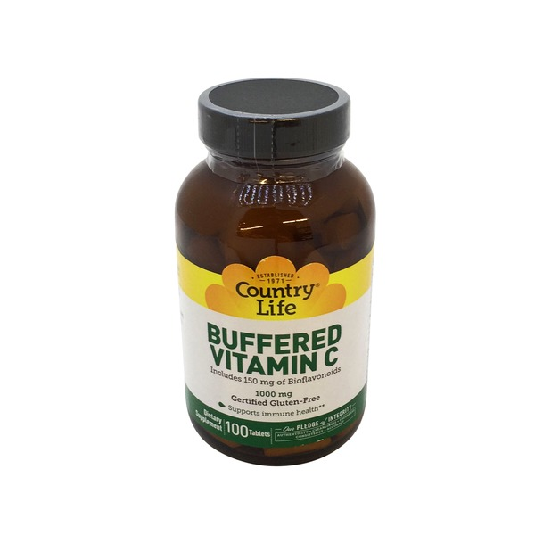 Country Life Buffered Vitamin C 1000 Mg