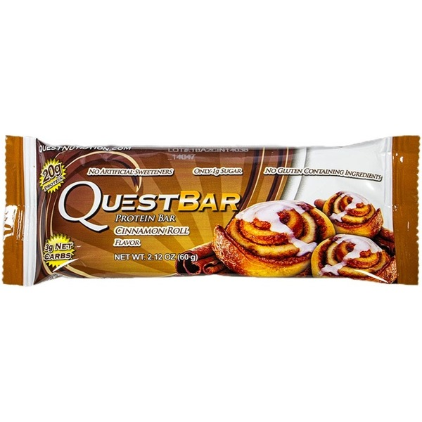 QuestBar Cinnamon Roll Protein Bar