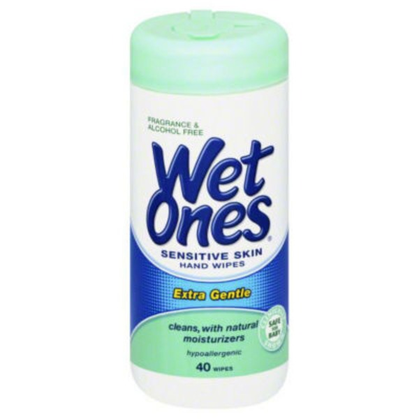 Wet Ones Sensitive Skin Extra Gentle Canisters