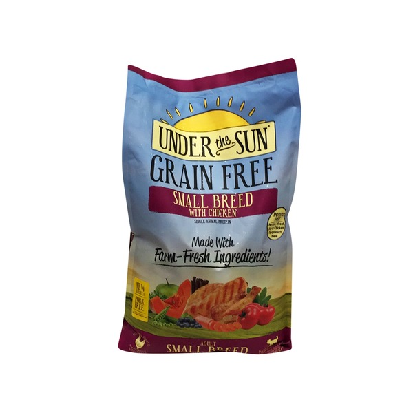 Under the Sun Grain Free Small Breed With Chicken Adult Dog Food