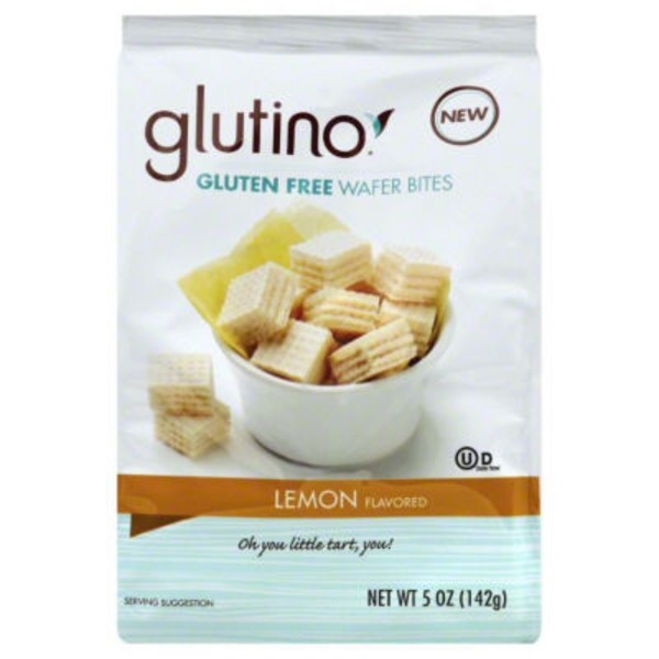 Glutino Lemon Flavored Gluten Free Wafer Bites