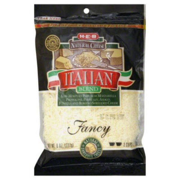 H-E-B Shredded Italian Blend Natural Cheese