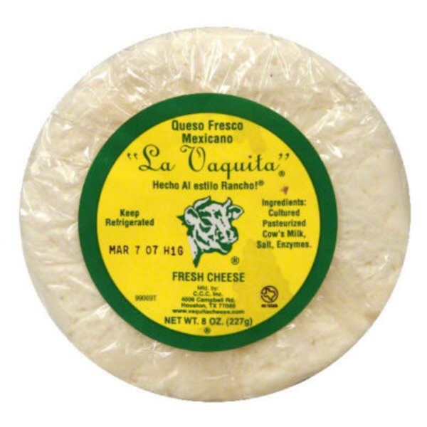 La Vaquita Cheese, Fresh