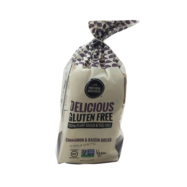 Little Northern Bakehouse Gluten Free Cinnamon & Raisin Bread