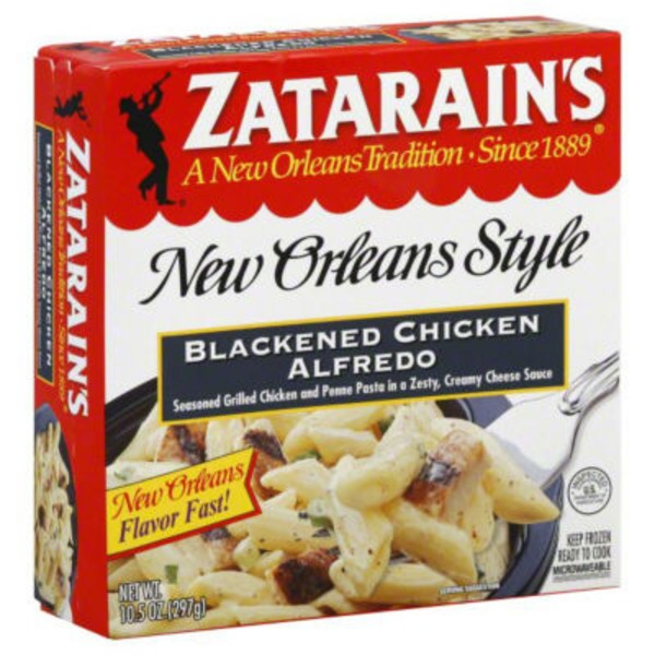 Zatarain's Blackened Chicken Alfredo Frozen Entree