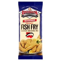 Louisiana Seasoned Fish Fry Crispy Seafood Breading Mix, 10 oz