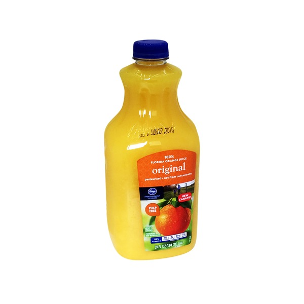 Kroger 100% Florida Orange Juice Original
